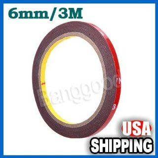 3m Auto Truck Car Acrylic Foam Double Sided Attachment Tape Adhesive 6mm New  Other Products