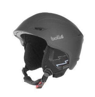 Bolle Sharp Snow Helmets, Soft Black, 58 61cm  Ski Helmets  Sports & Outdoors