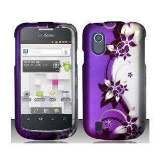 4 Items Combo For ZTE Concord V768 (T Mobile) Purple Silver Vines Design Hard Case Snap On Protector Cover + Car Charger + Free Stylus Pen + Free 3.5mm Stereo Earphone Headsets 9789862416402 Books