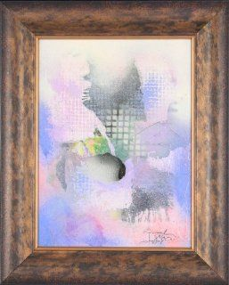 """Original Oil Painting by Dus Lazlo """"Abstract IX""""   21x17   Artwork"""
