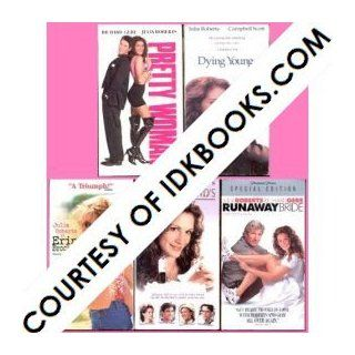 JULIA ROBERTS VHS COLLECTION Pretty Woman *PLUS 4 FREE GIFTS Dying Young / Erin Brockovich / My Best Friend's Wedding / Runaway Bride (Richard Gere, Jason Alexander, Campbell Scott, Albert Finney, Dermot Mulroney, Cameron Diaz, Rupert Everett) Julia