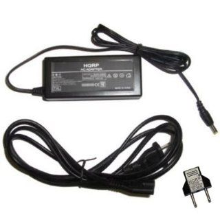 HQRP AC Power Adapter EH 21 / EH 52 / EH 53 / EH 55 for Nikon Coolpix 100, 600, 700, 750, 775, 880, 885, 995, 2000, 4300, 4500, 5000, 5400, 5700, 8700 Series Digital Camera plus HQRP Euro Plug Adapter Electronics