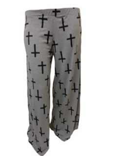 XclusiveCollection Womens Plus Palazzo Trousers Cross Print at  Women�s Clothing store