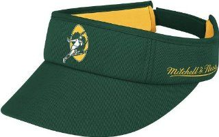 Mitchell & Ness Green Bay Packers Throwback Foam Summer Adjustable Visor   Green  Sports Related Merchandise  Sports & Outdoors