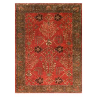 Jaipur Rugs Poeme PM51 Area Rug   Orange Rust   Area Rugs