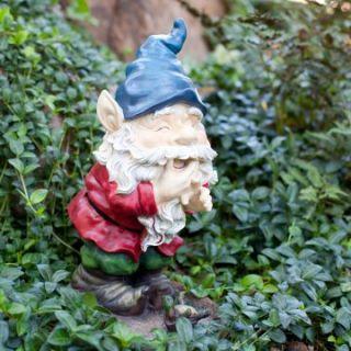 Laughing Garden Gnome Statue   Garden Statues