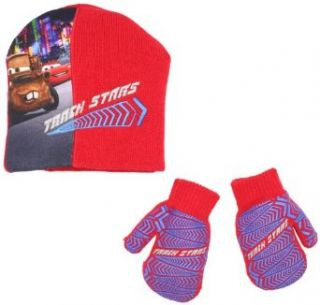 ABG Accessories Boys 2 7 Cars Toddler Set, Red, One Size: Cold Weather Accessory Sets: Clothing