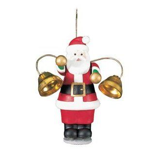 "Mr. Christmas ""Santa's Marching Band"" : 5 Figures Strike 10 Tuned Bells + Play 15 Christmas Songs : Holiday Figurines : Everything Else"