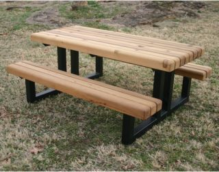 plans for building a heavy duty picnic table | Online Woodworking ...