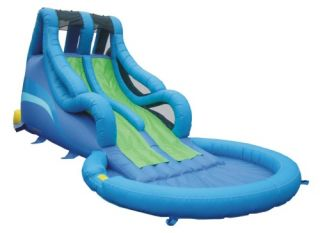 Kidwise Commercial Big Surf Inflatable Water Slide   Commercial Inflatables