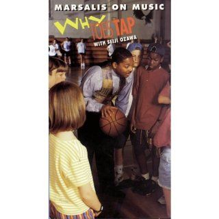 Why Toes Tap With Seiji Ozawa (Wynton Marsalis On Music Series) [VHS]: Wynton Marsalis, David Gelb, Michael Lindsay Hogg, Seiji Ozawa: Movies & TV