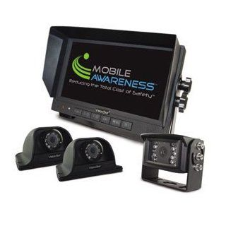 """Mobile Awareness MALDKS70T VisionStat 7"""" Triple Side View Camera System Automotive"""