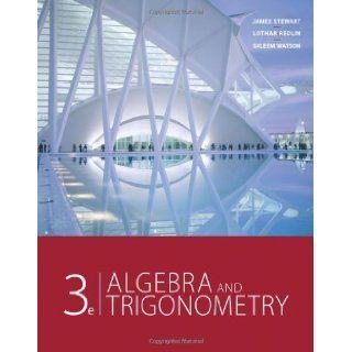 By James Stewart   Algebra and Trigonometry 3rd (third) Edition James Stewart 8580000912029 Books