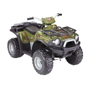 Fisher Price Power Wheels Brute Force Camo ATV Battery Powered Riding Toy   Battery Powered Riding Toys