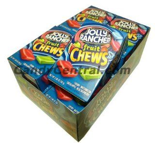 Jolly Rancher Fruit Chews (12 Ct)  Candy And Chocolate  Grocery & Gourmet Food