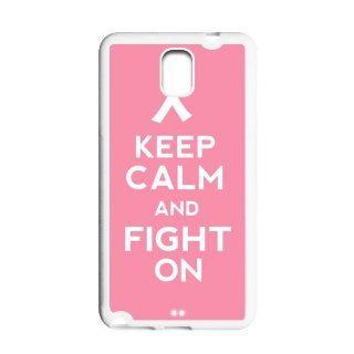 Pink Ribbon Breast Cancer Awareness Nice Samsung Galaxy Note 3 N900 Case, Rubber Edge Shell Protector Skin Cover: Cell Phones & Accessories