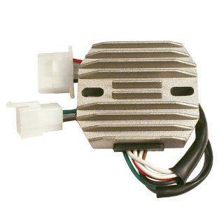 Accel 201428 Chrome Motorcycle Voltage Regulator for Yamaha XS750/850/1100 Automotive