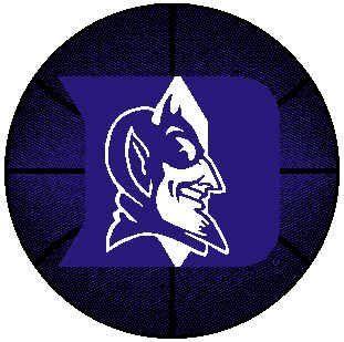 Duke Blue Devils ( University Of ) NCAA 4' ft Basketball Rug  Area Rugs  Sports & Outdoors