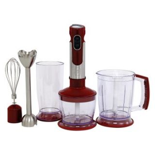 Wolfgang Puck WPIB2020R Immersion Hand Blender and Chopper