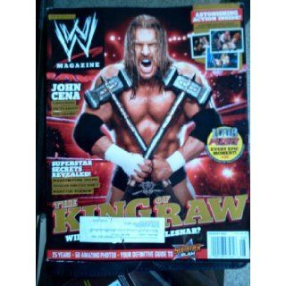 WWE Magazine August 2012, JOHN CENE, KING OF GRAW, ASTONISHING ACTION INSIDE: Books