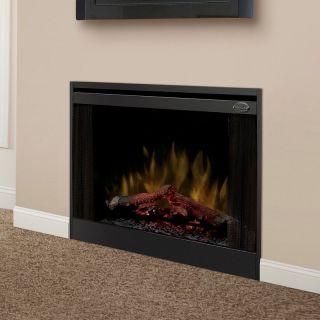 Dimplex 33 in. Slim Line Built In Electric Fireplace Insert   Electric Inserts