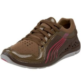 PUMA Women's L.i.f.t. Racer SL Sneaker,Brown/Pantone/Fuscia,5.5 B: Shoes