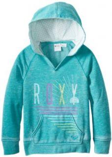 Roxy Girls 7 16 RG School Spirit Hoodie, Aquatic Blue, Small: Fashion Hoodies: Clothing