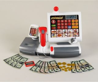 Theo Klein Electronic Cash Register   Pretend Play & Dress Up