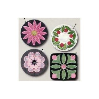 Smith Street Designs   MORE PIN CUSHIONS   Machine Embroidery Designs   #9035 : Other Products : Everything Else