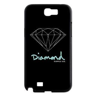 Custom Diamond Supply Co. Back Cover Case for Samsung Galaxy Note 2 N7100 N1237: Cell Phones & Accessories