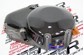 Ducati 848 Hm Monster MTS 1200 Sf Carbon Fiber Wet Clutch Cover Streetfighter 848: Automotive