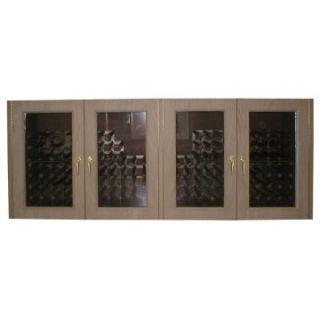 Vinotemp 400G Credenza Glass Four Door 304 Bottle Wine Cooling Cabinet   Wine Coolers