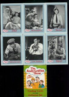 The Andy Griffith Show Trading Cards Complete Series 2 Set (110 cards including Andy, Barney Fife, Gomer Pyle, Aunt Bee, Opie, Goober & more): Sports Collectibles