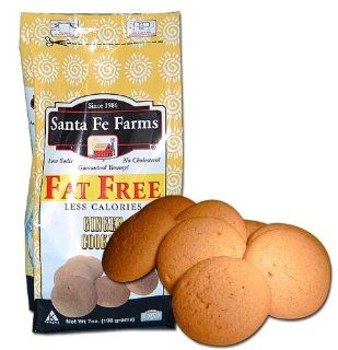 Sante Fe Farms Fat Free Ginger Cookies, 7 oz bags : Grocery & Gourmet Food