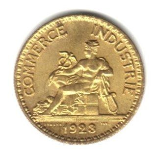 1923 France 50 Centimes Coin KM#884   Chamber of Commerce