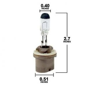 General Electric Center High Mount Stop Light Bulb 892: Automotive