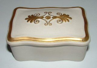 Vintage Dr. Ermete Agostinelli Porcelain Trinket Box : Decorative Boxes : Everything Else