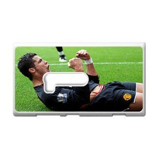 DIY Waterproof Protection Soccer Star Cristiano Ronaldo Case Cover For Nokia Lumia 920 0396 05: Cell Phones & Accessories