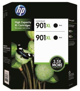 HP 901XL Black Ink Cartridge   Twin Pack Electronics