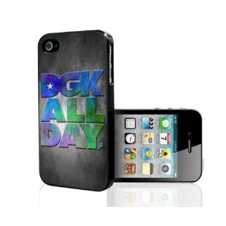 DGK All Day (colorful) Fashion Skateboard iPhone 5 Case Rare: Cell Phones & Accessories
