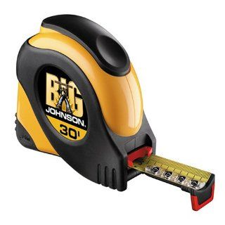 Johnson Level & Tool 930 Big Johnson 30 Foot Power Tape   Tape Measures