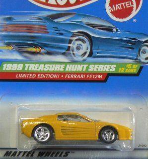 Hot Wheels 1999 Treasure Hunt Series Ferrari F512M, #5 of 12, #933 Toys & Games