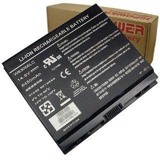 Hipower Laptop Battery For Alienware AREA 51 935T2280F, 9750, M9700, M9700I, M9750, M9750 17IN Aurora M9700, SMP 935T2280F, W83066LC, W84066LC Laptop Notebook Computers Computers & Accessories