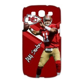 NFL Kansas City Chiefs Samsung Galaxy S3 Case Hot Player Alex Smith Slim Styles White Case Cover For Samsung Galaxy S3 I9300/I9308/I939 At Specialdesigner NFL Gift Store: Cell Phones & Accessories