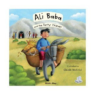 Ali Baba and the Forty Thieves (Flip Up Fairy Tales): Claudia Venturini: 0884538453343: Books