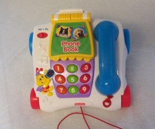 Fisher Price Talking Animal Pull Phone (2003)  Baby Musical Toys  Baby