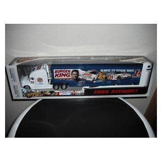 Tony Stewart #14 Burger King Have It Your Way Stewart Photo Hauler Transporter Tractor Trailer Semi Truck 1/64 Scale Winners Circle 2010: Toys & Games