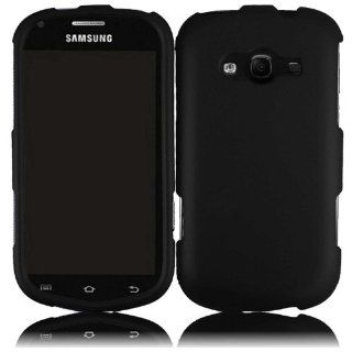 For Samsung Galaxy Reverb M950 Hard Cover Case Black Cell Phones & Accessories