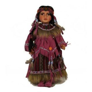 Native American Doll Sophia from the Cathay Collection   Table Toppers