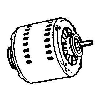 "ADOBEAIR 972J ""MASTER COOL"" ELECTRIC MOTOR 115 VOLTS : Electric Fan Motors : Patio, Lawn & Garden"